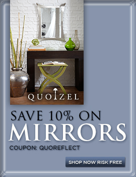 Save 10% on MIRRORS by QUOIZEL!